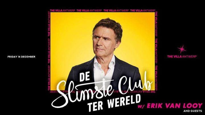 Fri.14 Dec • DE SLIMSTE CLUB TER WERELD • The Villa Antwerp