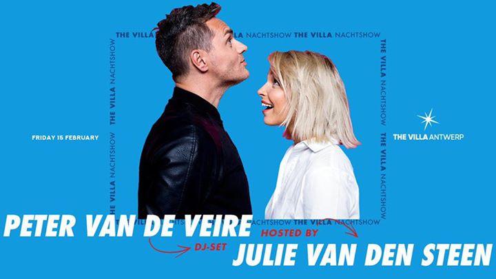 THE VILLA NACHTSHOW • PETER VAN DE VEIRE & JULIE VAN DEN STEEN