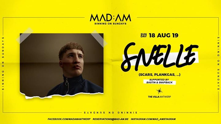 MAD:AM • 18:08 • SNELLE