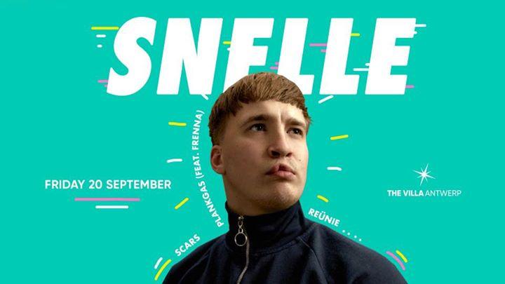 Fri.20 Sept • SNELLE • The Villa Antwerp