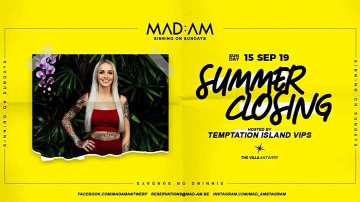 MAD:AM • 15:09 • SUMMER CLOSING