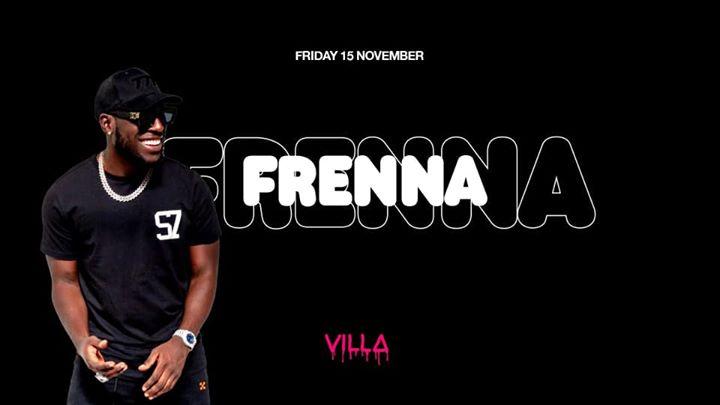 Fri.15 Nov • FRENNA • The Villa Antwerp