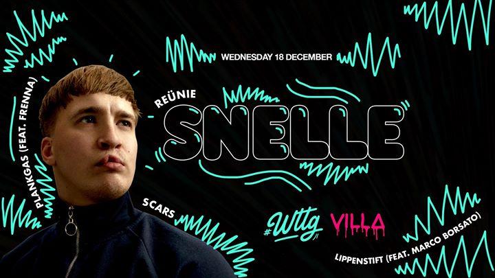 Wed.18.12 • WTTG w/ SNELLE • The Villa Antwerp