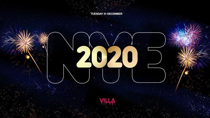Tue.31 Dec • NYE 2020 • The Villa Antwerp