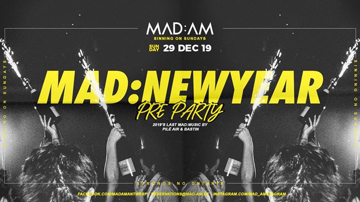 MAD:NEWYEAR pre-party • 29:12
