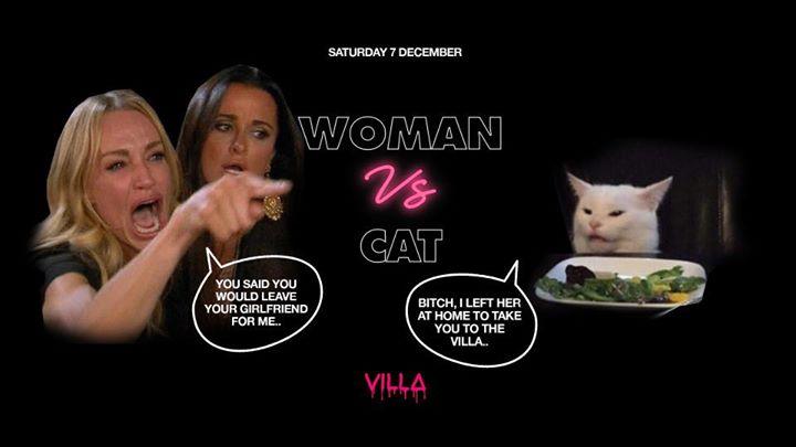 Sat.07 Dec • WOMAN vs. CAT • The Villa Antwerp