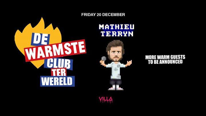 Fri.20 Dec • DE WARMSTE CLUB TER WERELD • The Villa Antwerp