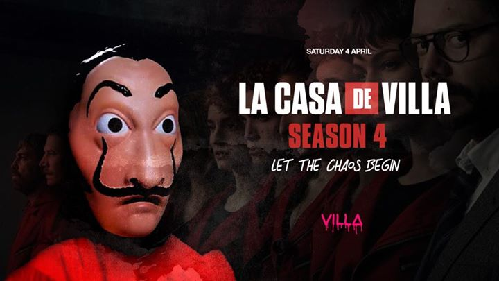 Sat.04 April • LA CASA DE VILLA 4 • The Villa Antwerp