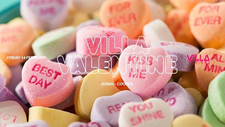 Fri.14 Feb • VILLA VALENTINE • The Villa Antwerp